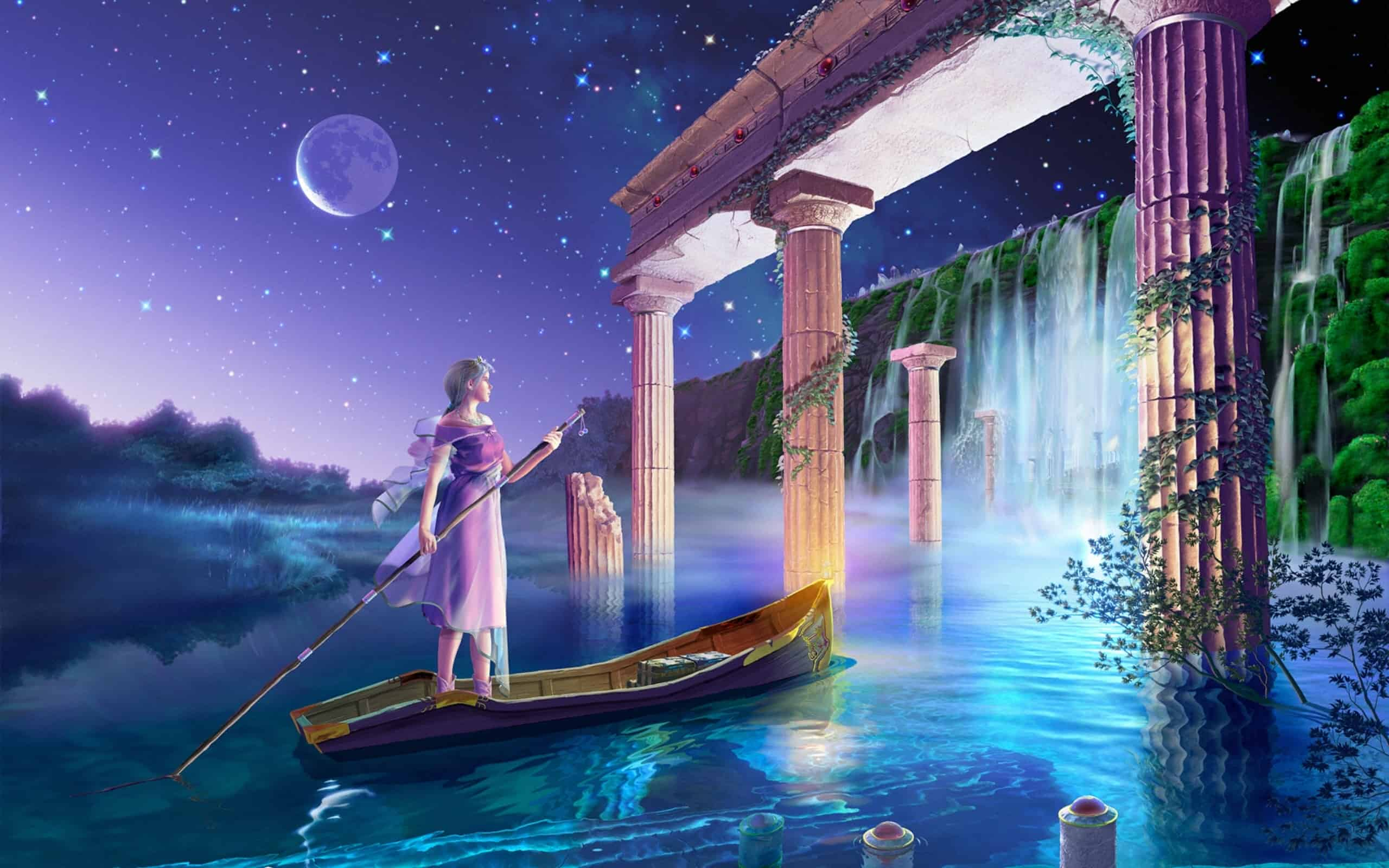esoteric-woman-water-temple